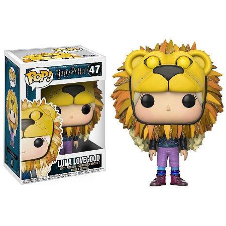 Luna Lovegood com Cabeça de Leão - Harry Potter - Funko Pop