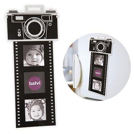 Porta-Retrato - Câmera e Filme Fotográfico