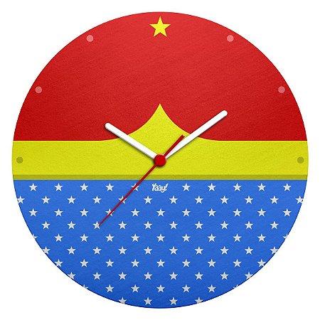 Relógio de Parede - Mulher Maravilha