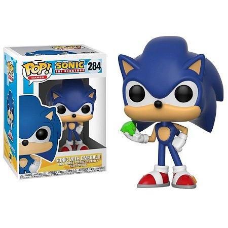 Sonic com a Esmeralda - Funko Pop