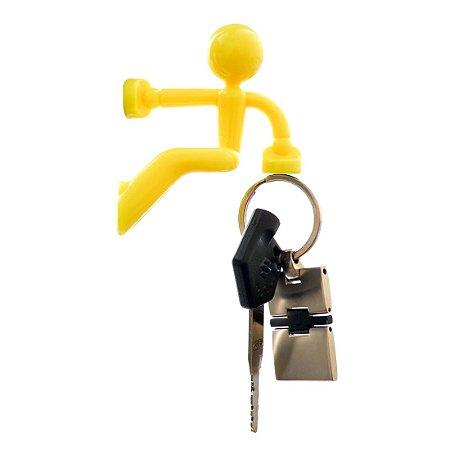 Porta Chaves Magnético - Alpinista Amarelo