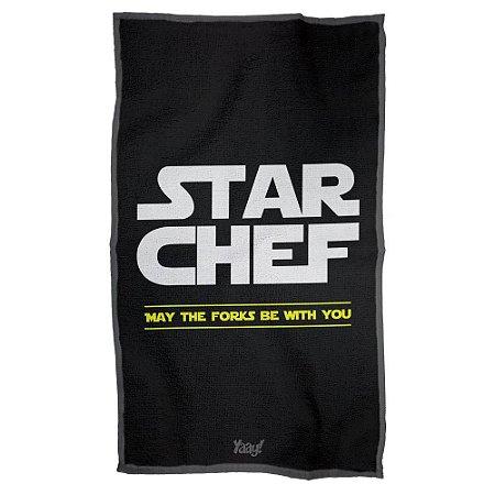 Pano de Prato Star Wars - Star Chef