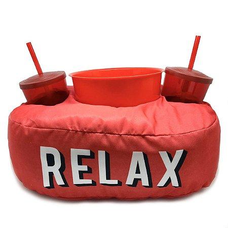Almofada Porta Pipoca - Relax