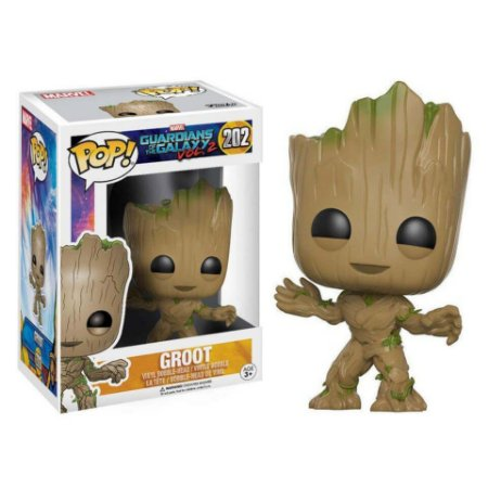 Groot - Guardiões da Galáxia - Funko Pop