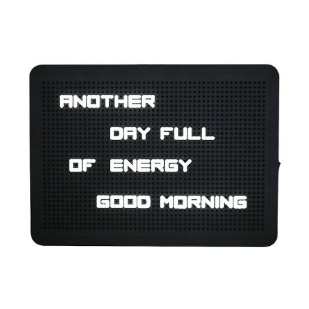 Luminária Letreiro Pixel - Peg Board LED
