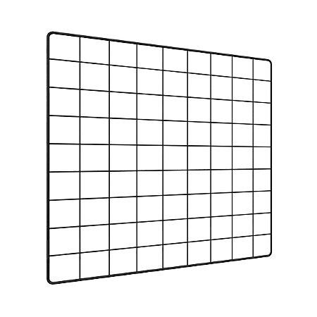 Memory Board Quadro de Fotos Preto - 45cm x 45cm + 6 Mini Prendedores