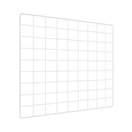 Memory Board Quadro de Fotos Branco - 45cm x 45cm + 6 Mini Prendedores