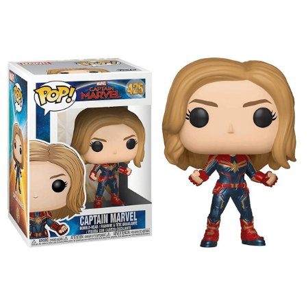 Capitã Marvel - Funko Pop