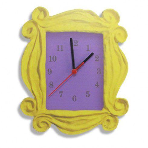 Relógio de Parede Moldura Friends