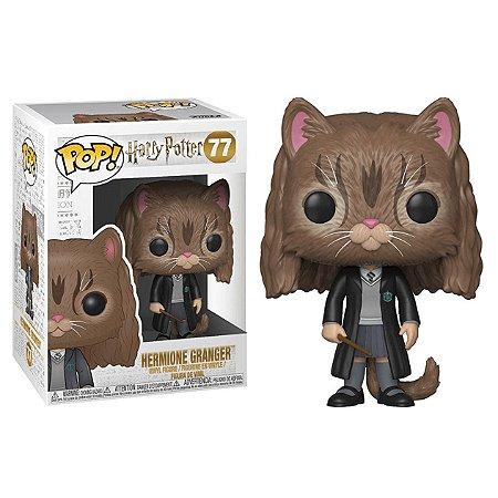Hermione com Rosto de Gato - Harry Poter - Funko Pop