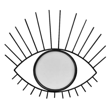 Espelho Moldura Olho Preto