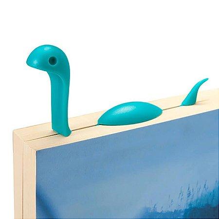 Marcador de Livro - Monstro do Lago Ness - Azul