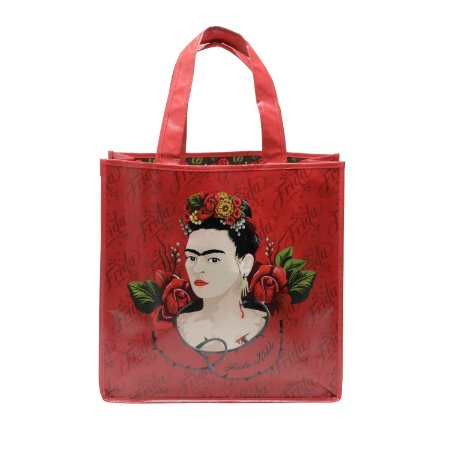 Sacola Retornável Ecológica Frida Kahlo