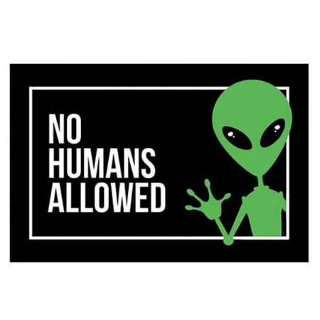 Capacho Extraterrestre - No Humans Allowed