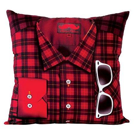 Almofada Camisa Xadrez Hipster