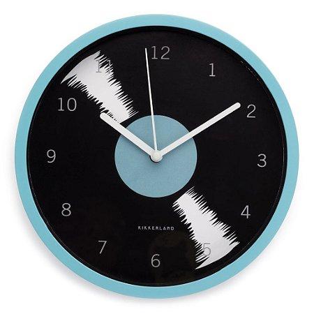 Relógio de Parede Disco Vinil