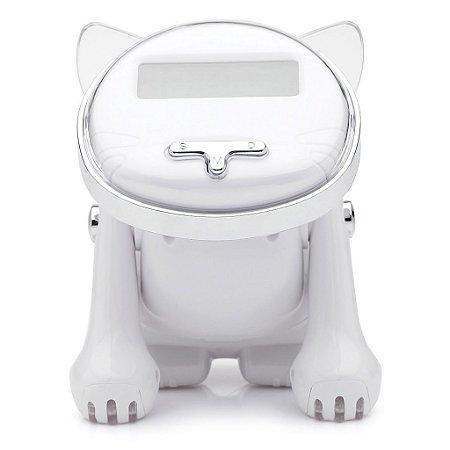 Despertador Gato Robô