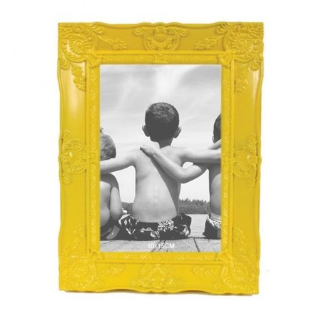 Porta-retrato Provençal Amarelo 10x15cm