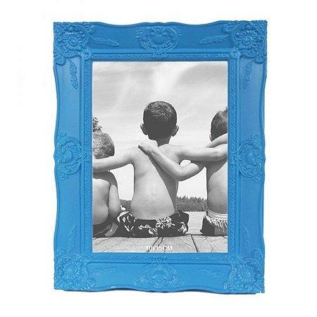 Porta-retrato Provençal Azul 10x15cm