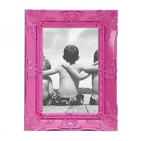 Porta-retrato Provençal Rosa 10x15cm