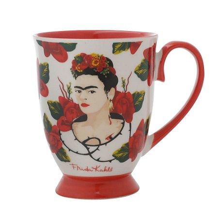 Caneca Frida Kahlo - Rosas
