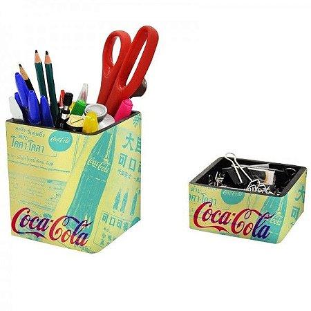 Porta Treco e Clips - Coca Cola