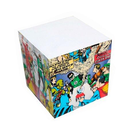 Bloco de Anotação Liga da Justiça - DC Comics