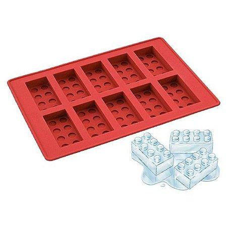 Forma de Gelo / Chocolate - Lego