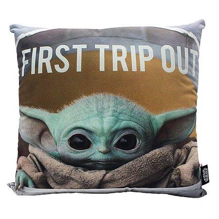 Almofada Baby Yoda The Mandalorian - Star Wars