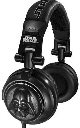 Headphone Darth Vader DJ Stereo - Star Wars