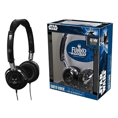 Headphone Darth Vader Fold-up - Star Wars