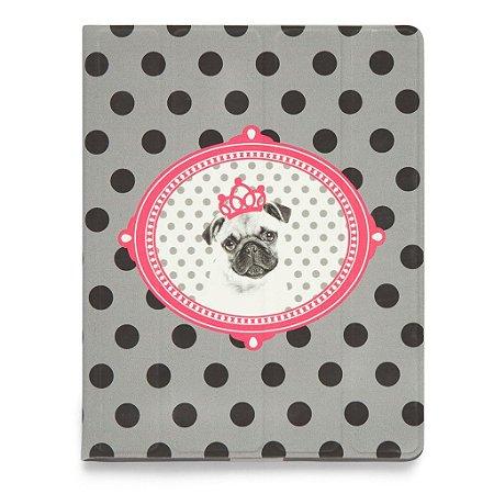 Case iPad - Princess Pug