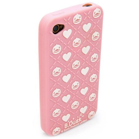 Case iPhone 4/4S B Duck Hearts