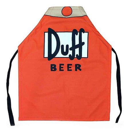 Avental - Duff Beer - Os Simpsons
