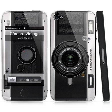Adesivo para iPhone 4/4S - Câmera Vintage