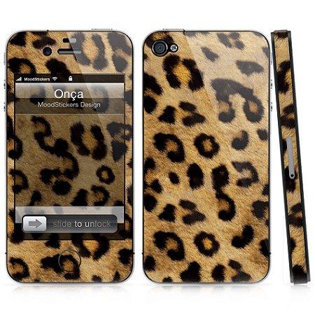 Adesivo para iPhone 4/4S - Onça