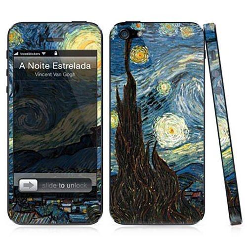 Adesivo para iPhone 5/5S - A Noite Estrelada