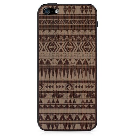 Adesivo Wood Native Jacarandá Catedral - iPhone 5/5S