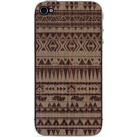 Madeira Adesiva Étnica Jacarandá Catedral - iPhone 4/4S
