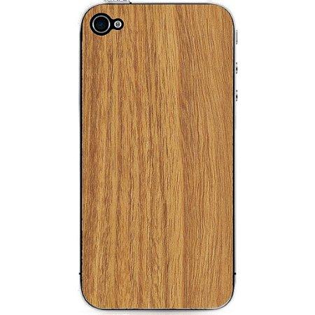 Madeira Adesiva Marfim Linheira - iPhone 4/4S