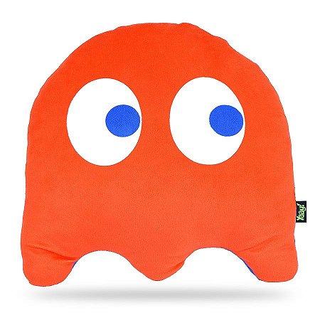 Almofada Pacman Ghost Vermelho