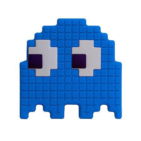 Luminária Pacman - Fantasma Azul