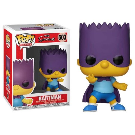 Bart Bartman - Os Simpsons - Funko Pop