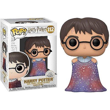 Harry Potter com Capa de Invisibilidade - Funko Pop