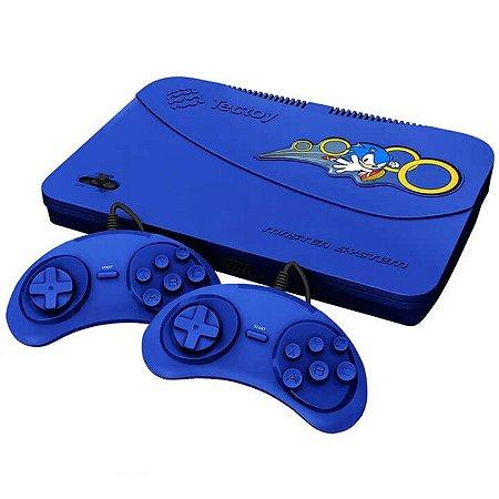 Master System Evolution Azul 132 Jogos na Memória - Tec Toy
