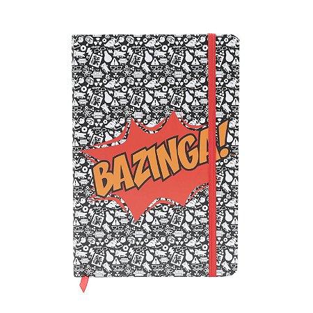 Caderneta Bazinga - The Big Bang Theory - 21cm