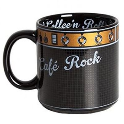 Caneca Café Rock Amplificador