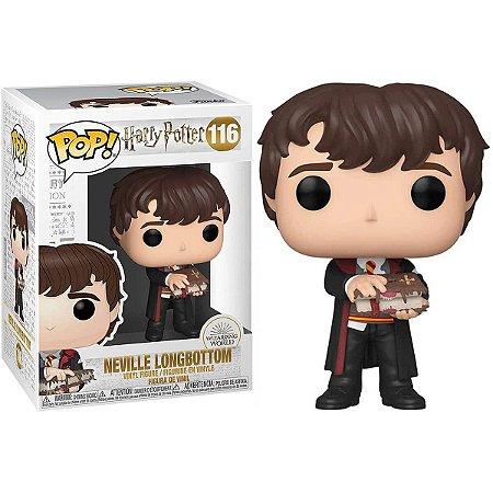Neville Longbottom com Livro dos Monstros - Harry Potter - Funko Pop
