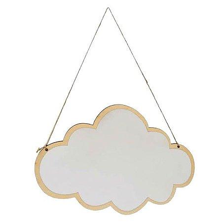 Espelho Acrílico Nuvem
