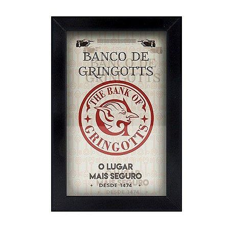 Cofre de Parede - Banco de Gringotts - Harry Potter